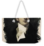 Young Faces From The Past Series By Adam Asar, No 38 Weekender Tote Bag