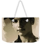 Young Faces From The Past Series By Adam Asar, No 39 Weekender Tote Bag