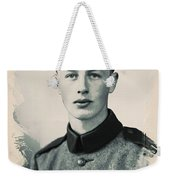 Young Faces From The Past Series By Adam Asar, No 40 Weekender Tote Bag