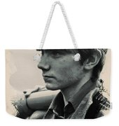 Young Faces From The Past Series By Adam Asar, No 45 Weekender Tote Bag