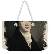 Young Faces From The Past Series By Adam Asar, No 53 Weekender Tote Bag