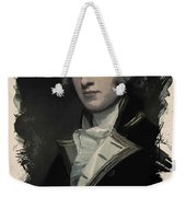 Young Faces From The Past Series By Adam Asar, No 55 Weekender Tote Bag