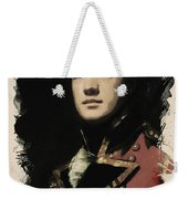 Young Faces From The Past Series By Adam Asar, No 57 Weekender Tote Bag