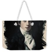 Young Faces From The Past Series By Adam Asar, No 58 Weekender Tote Bag
