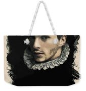 Young Faces From The Past Series By Adam Asar, No 59 Weekender Tote Bag