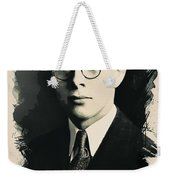 Young Faces From The Past Series By Adam Asar, No 6 Weekender Tote Bag