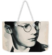 Young Faces From The Past Series By Adam Asar, No 60 Weekender Tote Bag