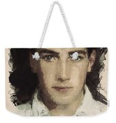Young Faces From The Past Series By Adam Asar, No 61 Weekender Tote Bag