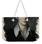 Young Faces From The Past Series By Adam Asar, No 62 Weekender Tote Bag