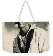 Young Faces From The Past Series By Adam Asar, No 63 Weekender Tote Bag