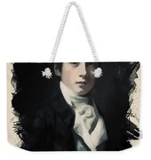 Young Faces From The Past Series By Adam Asar, No 64 Weekender Tote Bag