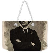 Young Faces From The Past Series By Adam Asar, No 65 Weekender Tote Bag