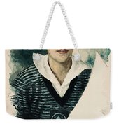 Young Faces From The Past Series By Adam Asar, No 66 Weekender Tote Bag