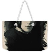 Young Faces From The Past Series By Adam Asar, No 67 Weekender Tote Bag