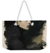 Young Faces From The Past Series By Adam Asar, No 68 Weekender Tote Bag