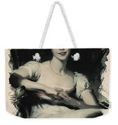 Young Faces From The Past Series By Adam Asar, No 70 Weekender Tote Bag