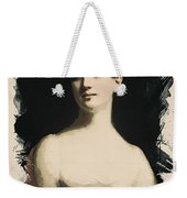Young Faces From The Past Series By Adam Asar, No 72 Weekender Tote Bag