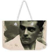Young Faces From The Past Series By Adam Asar, No 73 Weekender Tote Bag