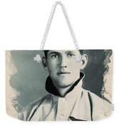 Young Faces From The Past Series By Adam Asar, No 78 Weekender Tote Bag