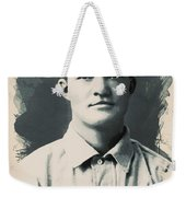Young Faces From The Past Series By Adam Asar, No 79 Weekender Tote Bag