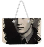 Young Faces From The Past Series By Adam Asar, No 89 Weekender Tote Bag