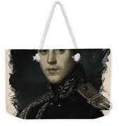 Young Faces From The Past Series By Adam Asar, No 9 Weekender Tote Bag