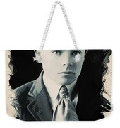 Young Faces From The Past Series By Adam Asar, No 90 Weekender Tote Bag