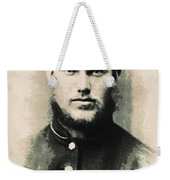 Young Faces From The Past Series By Adam Asar, No 91 Weekender Tote Bag