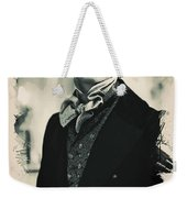 Young Faces From The Past Series By Adam Asar, No 93 Weekender Tote Bag