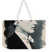 Young Faces From The Past Series By Adam Asar, No 95 Weekender Tote Bag