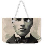 Young Faces From The Past Series By Adam Asar, No 96 Weekender Tote Bag