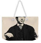 Young Faces From The Past Series By Adam Asar, No 97 Weekender Tote Bag