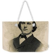 Young Faces From The Past Series By Adam Asar, No 99 Weekender Tote Bag