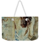 Young Girl  64 Weekender Tote Bag