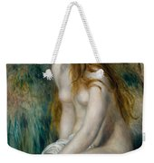 Young Girl Bathing, 1892 Weekender Tote Bag