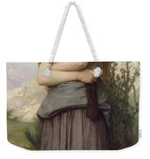 Young Girl, By William-adolphe Bouguereau Weekender Tote Bag