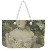 Young Girl In A Ball Gown By Berthe Morisot Weekender Tote Bag