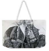 Young Girls Of Bethlehem Year 1896 Weekender Tote Bag