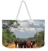 Young Herders, Zambia Weekender Tote Bag