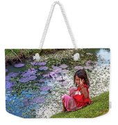 Young Khmer Girl - Cambodia Weekender Tote Bag
