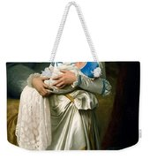 Young Lady And The Baby Weekender Tote Bag