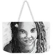 Young Lady Weekender Tote Bag