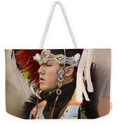 Pow Wow Young Man Weekender Tote Bag