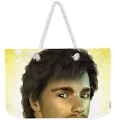 Young Man Weekender Tote Bag
