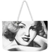 Young Marilyn Weekender Tote Bag