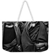 Young Monks II Bw Weekender Tote Bag