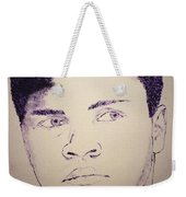 Young Muhammad Ali Weekender Tote Bag