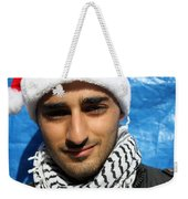 Young Palestinian Man Weekender Tote Bag