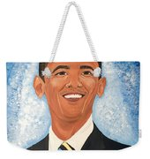 Young President Obama Weekender Tote Bag
