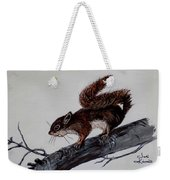 Young Squirrel Weekender Tote Bag